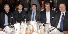 Dominik Carl v Michael Krämer IT u Florian Häußler v Wortmann u Gordon Sun v TP-Link u Georg Dietsch v GSD Remarketing u Fabian Maiwald v Samsung Electronics